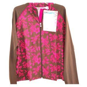 Coolibar NWT Sun Protection UPF 50 Zip Jacket XXL